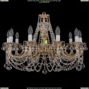 1702/10/250/C/GW/Balls Хрустальная подвесная люстра Bohemia Ivele Crystal