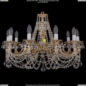 1702/10/C/GW/Balls Подвесная люстра Bohemia Ivele Crystal (Богемия)