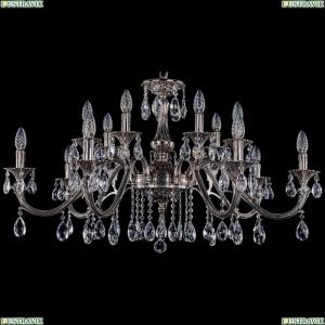 1703/14/360/A/NB Хрустальная подвесная люстра Bohemia Ivele Crystal (Богемия)