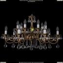 1703/14/A/FP/Balls Хрустальная подвесная люстра Bohemia Ivele Crystal (Богемия)