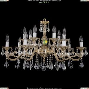 1703/14/A/GW/Leafs Подвесная люстра Bohemia Ivele Crystal (Богемия)