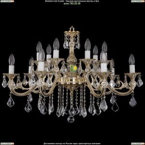1703/14/B/GW/Leafs Подвесная люстра Bohemia Ivele Crystal (Богемия)