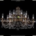 1703/14/C/FP/Leafs Хрустальная подвесная люстра Bohemia Ivele Crystal (Богемия)
