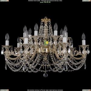 1703/14/C/GW/Leafs Подвесная люстра Bohemia Ivele Crystal (Богемия)
