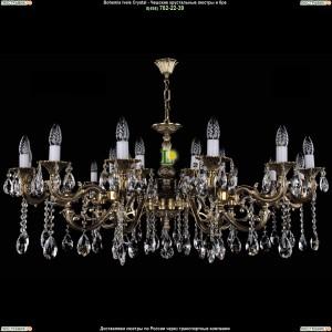 1703/21/A/GB Подвесная люстра Bohemia Ivele Crystal (Богемия)