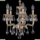 1704/5/UP125IV/A/GW Хрустальная подвесная люстра Bohemia Ivele Crystal (Богемия)
