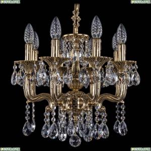 1704/8/UP125IV/A/GB Хрустальная подвесная люстра Bohemia Ivele Crystal (Богемия)