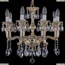 1704/8/150/A/GW Хрустальная подвесная люстра Bohemia Ivele Crystal (Богемия)