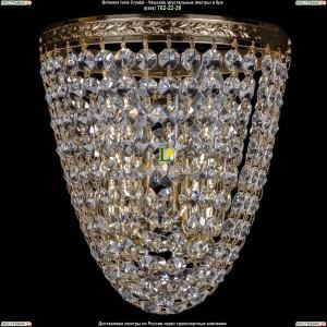 1925/2/S/G Хрустальная бра Bohemia Ivele Crystal (Богемия)