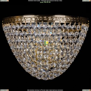 1925/3/W/G Хрустальная бра Bohemia Ivele Crystal (Богемия)