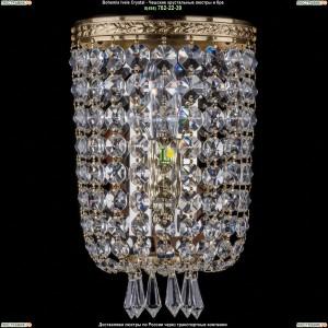 1927/1/S/G Хрустальная бра Bohemia Ivele Crystal (Богемия)