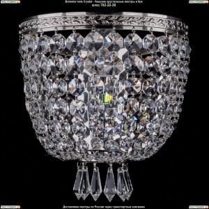 1927/1/W/Ni Хрустальная бра Bohemia Ivele Crystal (Богемия)