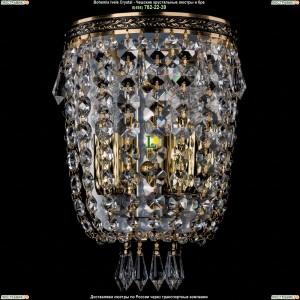 1927/2/GB Хрустальная бра Bohemia Ivele Crystal (Богемия)