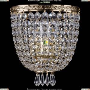 1927/3/S/G Хрустальная бра Bohemia Ivele Crystal (Богемия)