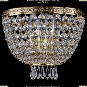 1927/3/W/G Хрустальная бра Bohemia Ivele Crystal (Богемия)
