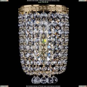 1928/1/S/G Хрустальная бра Bohemia Ivele Crystal (Богемия)