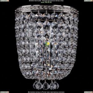 1928/2/S/Ni Хрустальная бра Bohemia Ivele Crystal (Богемия)