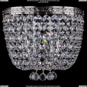 1928/2/W/Ni Хрустальная бра Bohemia Ivele Crystal (Богемия)