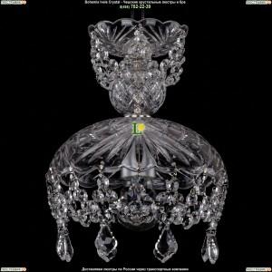 7711/22/Ni/Leafs Хрустальная подвесная люстра Bohemia Ivele Crystal (Богемия)