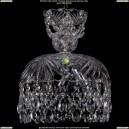 7711/25/Ni Хрустальная подвесная люстра Bohemia Ivele Crystal (Богемия)