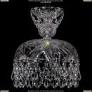 7711/25/Ni/Drops Хрустальная подвесная люстра Bohemia Ivele Crystal (Богемия)