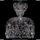 7711/25/Ni/Leafs Хрустальная подвесная люстра Bohemia Ivele Crystal (Богемия)