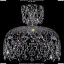 7711/35/Ni/Leafs Хрустальная подвесная люстра Bohemia Ivele Crystal (Богемия)