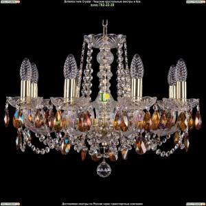 1402/8/195/G/711 Хрустальная подвесная люстра Bohemia Ivele Crystal (Богемия)