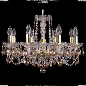 1402/8/195/G/721 Хрустальная подвесная люстра Bohemia Ivele Crystal (Богемия)