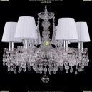 1410/6/160/Ni/V0300/SH2 Хрустальная подвесная люстра Bohemia Ivele Crystal (Богемия)