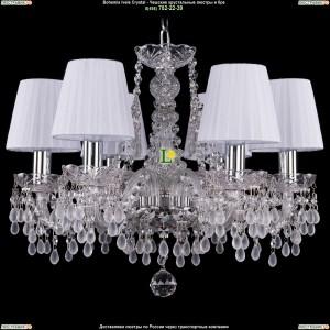 1410/6/160/Ni/0300/SH2 Хрустальная подвесная люстра Bohemia Ivele Crystal (Богемия)