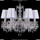 1410/6/160/Ni/V0300/SH21 Хрустальная подвесная люстра Bohemia Ivele Crystal (Богемия)