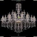 1415/20+10+5/530-135/G Хрустальная подвесная люстра Bohemia Ivele Crystal (Богемия)