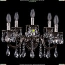 1700/5/A/NB Хрустальное бра Bohemia Ivele Crystal (Богемия)