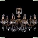 1702/10/300/A/FP Хрустальная подвесная люстра Bohemia Ivele Crystal
