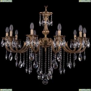 1702/10/300/B/FP Хрустальная подвесная люстра Bohemia Ivele Crystal (Богемия)