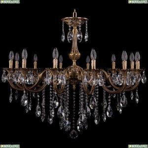 1702/12/300/B/FP Хрустальная подвесная люстра Bohemia Ivele Crystal (Богемия)