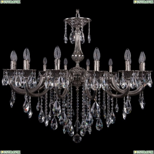 1702/14/300/B/NB Хрустальная подвесная люстра Bohemia Ivele Crystal (Богемия)