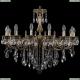 1702/16/300/B/GB Хрустальная подвесная люстра Bohemia Ivele Crystal (Богемия)