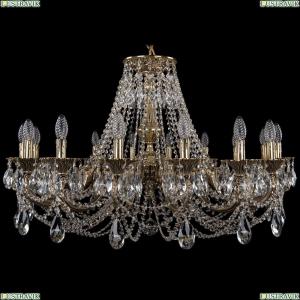 1702/16/300/C/GB Хрустальная подвесная люстра Bohemia Ivele Crystal (Богемия)