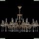 1703/18/320+210/A/GB Хрустальная подвесная люстра Bohemia Ivele Crystal (Богемия)