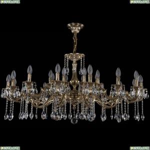 1703/24/320+210/A/GB Хрустальная подвесная люстра Bohemia Ivele Crystal (Богемия)