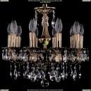 1702/10/CK125IV/A/FP Хрустальная подвесная люстра Bohemia Ivele Crystal (Богемия)