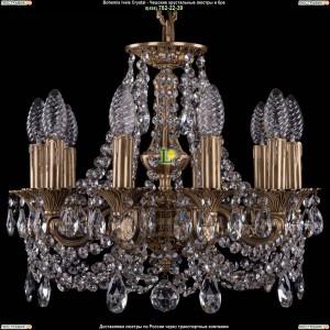 1707/10/125/C/FP Хрустальная подвесная люстра Bohemia Ivele Crystal (Богемия)