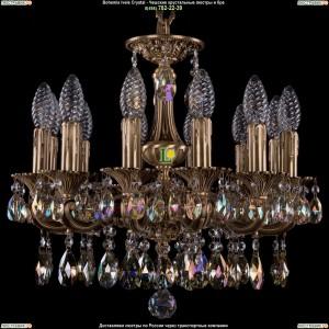 1707/12/125/A/FP/701 Хрустальная подвесная люстра Bohemia Ivele Crystal (Богемия)