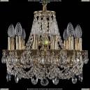 1707/12/125/C/GB Хрустальная подвесная люстра Bohemia Ivele Crystal (Богемия)