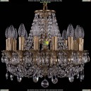 1707/14/125/C/FP Хрустальная подвесная люстра Bohemia Ivele Crystal (Богемия)