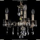 1702/3/CK125IV/A/GB Хрустальная подвесная люстра Bohemia Ivele Crystal (Богемия)