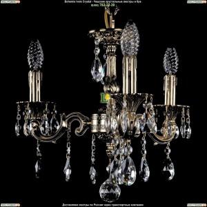 1707/3/125/A/GB Хрустальная подвесная люстра Bohemia Ivele Crystal (Богемия)