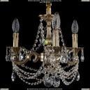 1707/3/125/C/GB Хрустальная подвесная люстра Bohemia Ivele Crystal (Богемия)